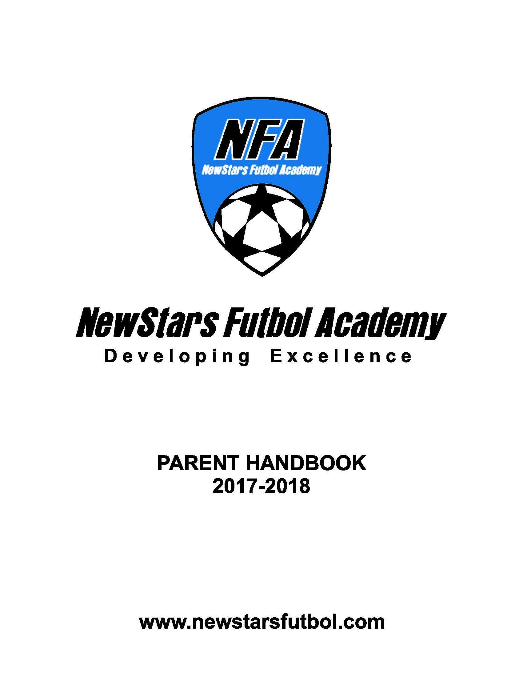 NFA Members Handbook Cover