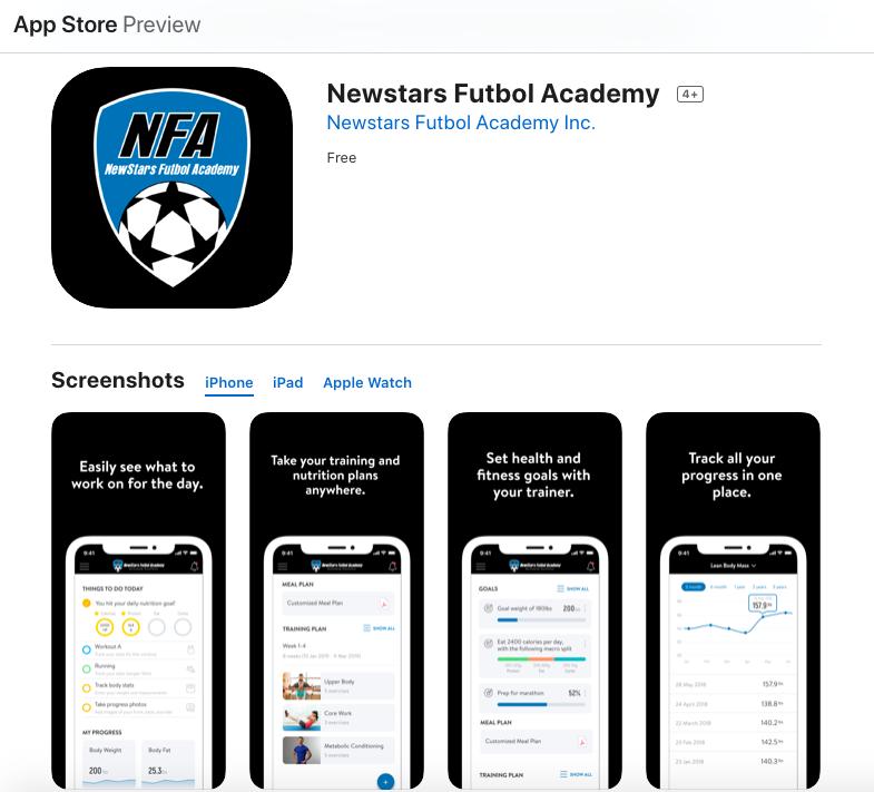 NFA App Apple
